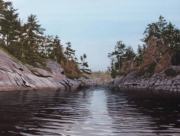Painting - River Narrows by Kenneth M Kirsch
