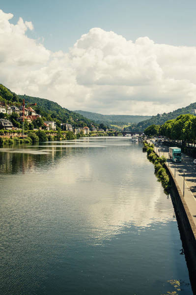 Wall Art - Photograph - River Neckar Heidelberg by Pati Photography