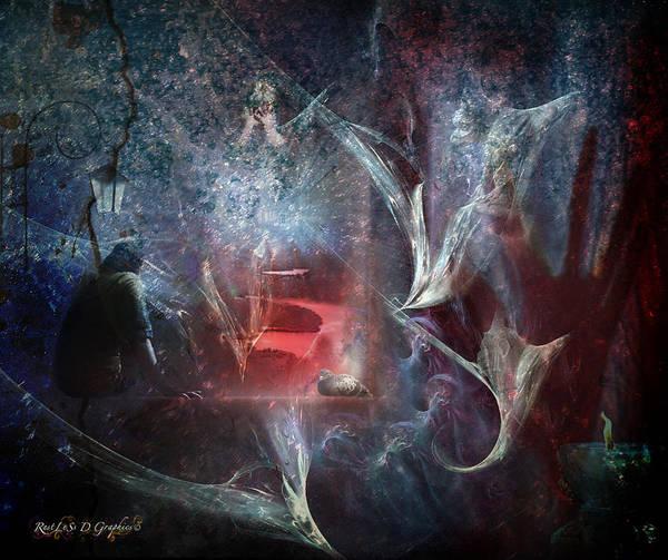 Digital Art - River Of Deceit by Rhonda Strickland
