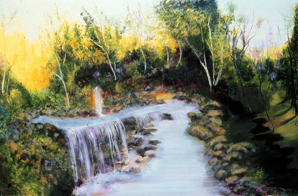 Ione Painting - River Of No Return   by Ione Citrin