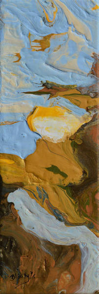 Wall Art - Painting - River Of No Return by Donna Blackhall