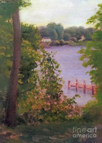 Painting - River Overlook by Linda Anderson