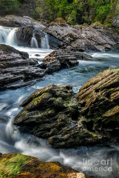 Riverside Photograph - River Passing by Adrian Evans