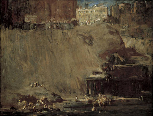 Photograph - River Rats by George Bellows