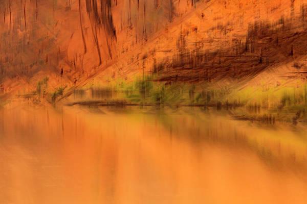 Photograph - River Reflection by Deborah Hughes