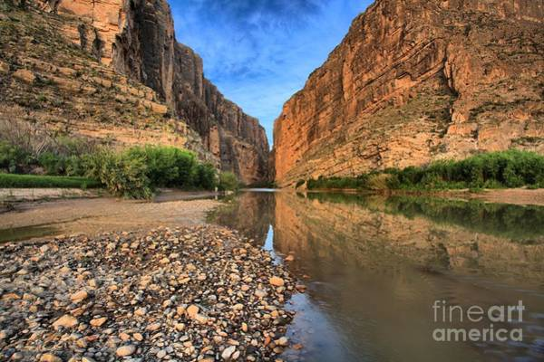 Photograph - River Rocks At Santa Elena by Adam Jewell