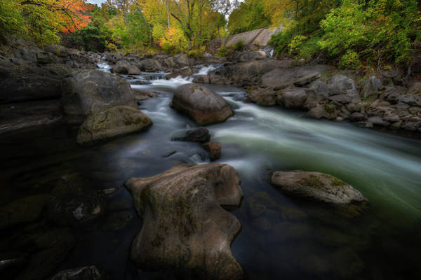 Photograph - River Rocks by Bill Wakeley