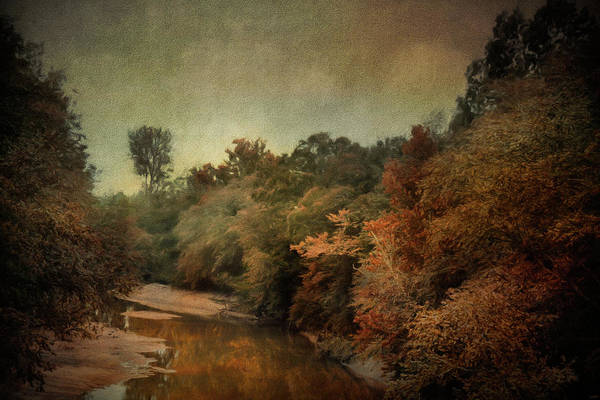 Photograph - River Run Off In Autumn by Jai Johnson