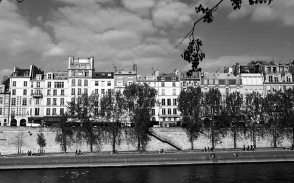 Photograph - River Seine Paris 2 by Andrew Fare