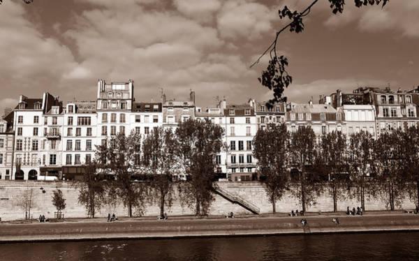 Photograph - River Seine Paris 3 by Andrew Fare