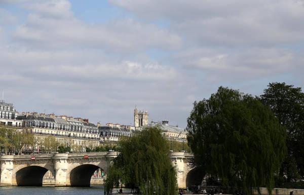 Photograph - River Seine Paris 4 by Andrew Fare