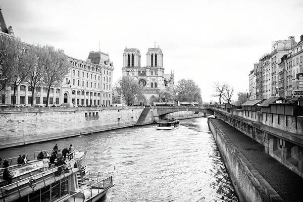 River Seine, Paris Art Print