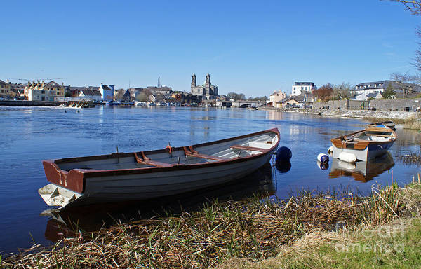 Photograph - River Shannon At Athlone by David Birchall