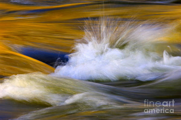 Splash Photograph - River by Silke Magino