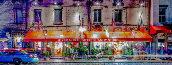 River Street Sweets Candy Store Savannah Georgia   Art Print