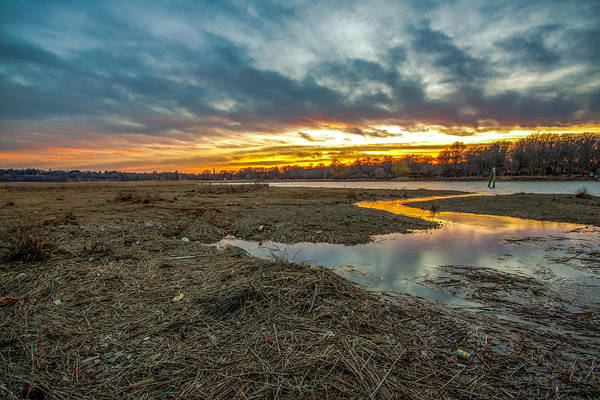 Photograph - River Sunset by Brian MacLean
