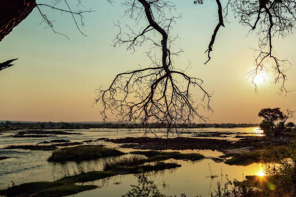 Photograph - River Sunset In Botswana by Kay Brewer