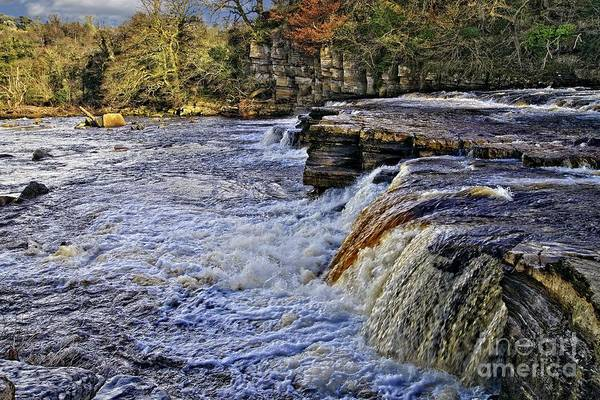 Photograph - River Swale At Richmond Yorkshire by Martyn Arnold