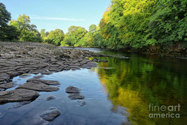Abbey Photograph - River Swale, Easby by Smart Aviation