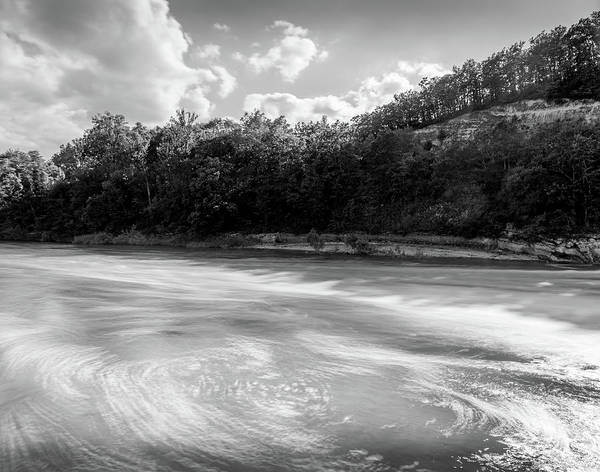 Photograph - River Swirls by Georgia Fowler