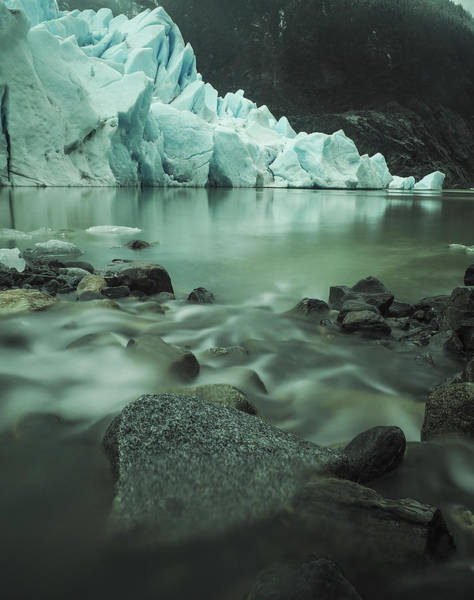 Photograph - River To The Glacier by Ian Johnson