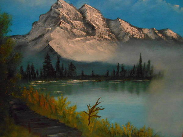 Wall Art - Painting - River Trail by Pamela Ray