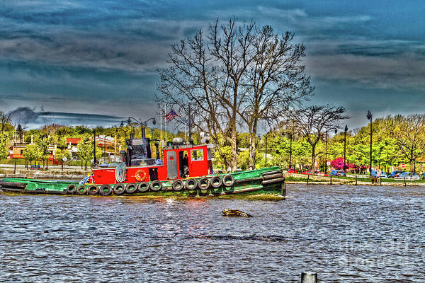 Photograph - River Tug by William Norton