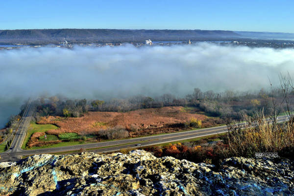 Photograph - River Valley Fog by Susie Loechler