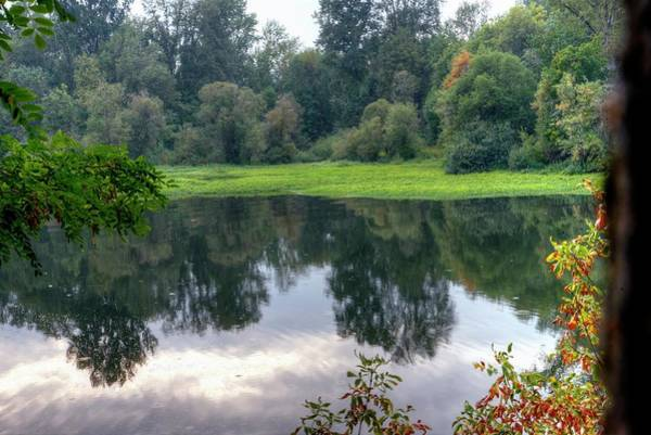 Photograph - River View by Jerry Sodorff