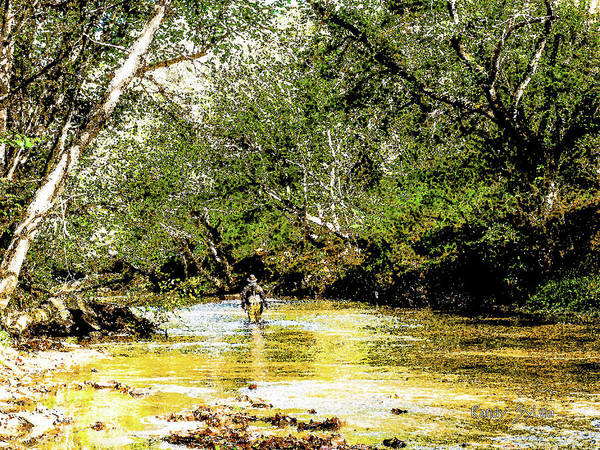 Photograph - River Walk by Randy Sylvia