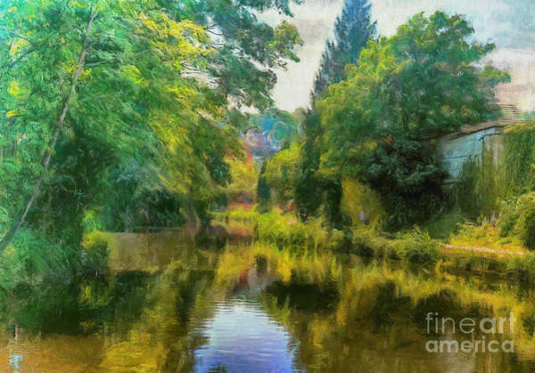 Photograph - River Wey, Guildford by Leigh Kemp