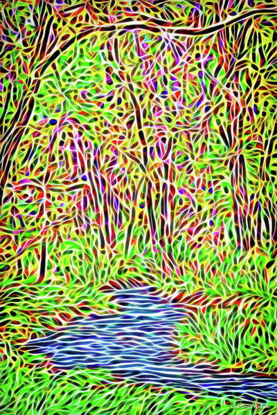 Digital Art - River Woods Enchantment by Joel Bruce Wallach