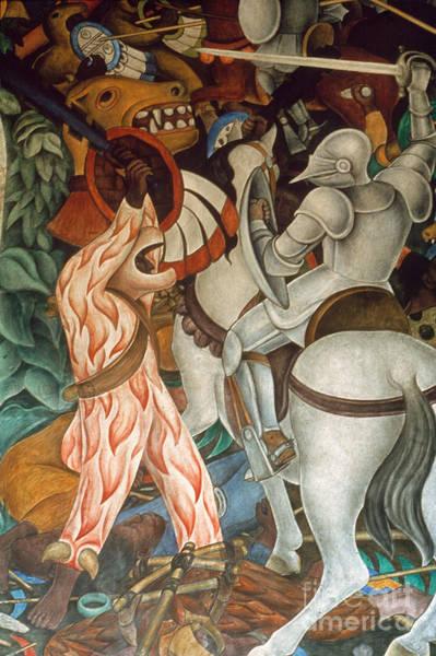 Wall Art - Photograph - Rivera: Cuernavaca by Granger