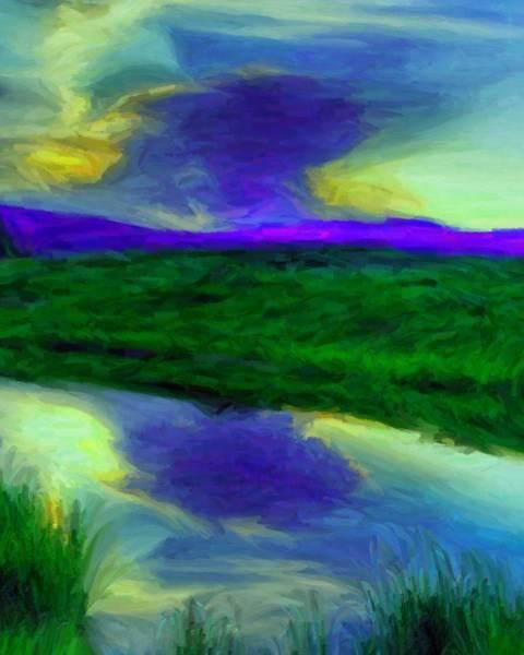 Digital Art - Riverbank 1 by Caito Junqueira