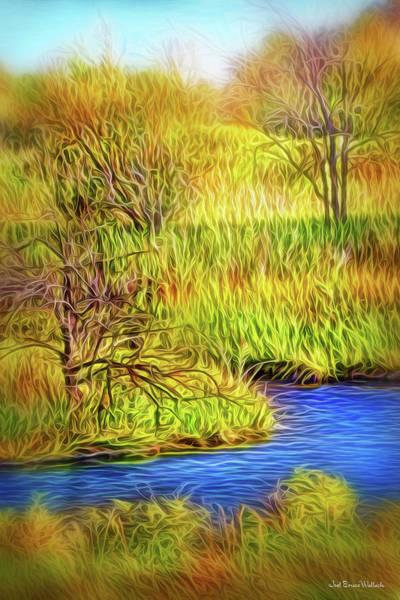 Digital Art - Riverbank Contemplation by Joel Bruce Wallach