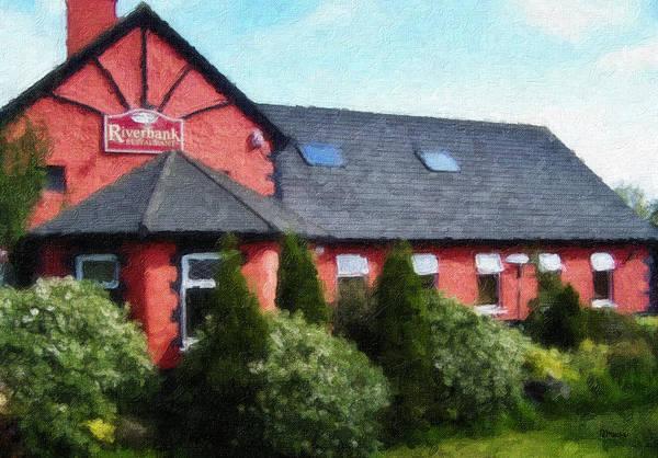 Wall Art - Painting - Riverbank Restaurant Riverstown Ireland by Teresa Mucha