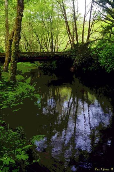 Photograph - Riverbridge by Ben Upham III