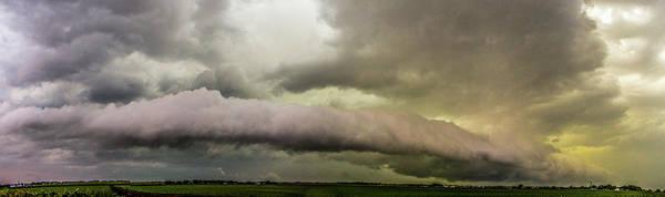 Photograph - Riverdale Nebraska Shelf Cloud 004 by NebraskaSC