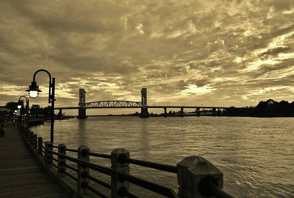 Photograph - Riverfront At Dusk by Cynthia Guinn