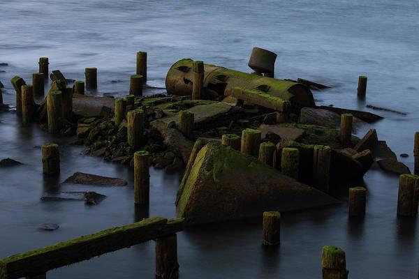 Photograph - Riverfront Relics by Robert Potts