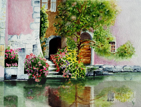 Painting - Riverfront Property by Karen Fleschler