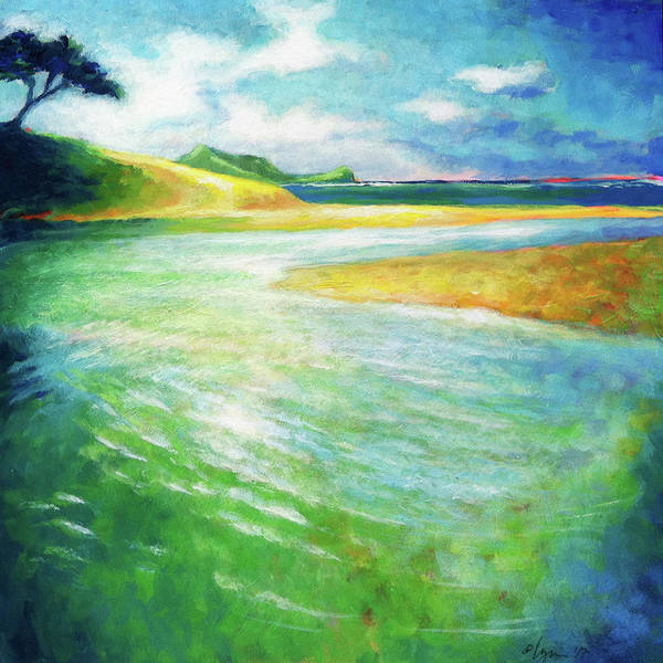 Painting - Rivermouth by Angela Treat Lyon