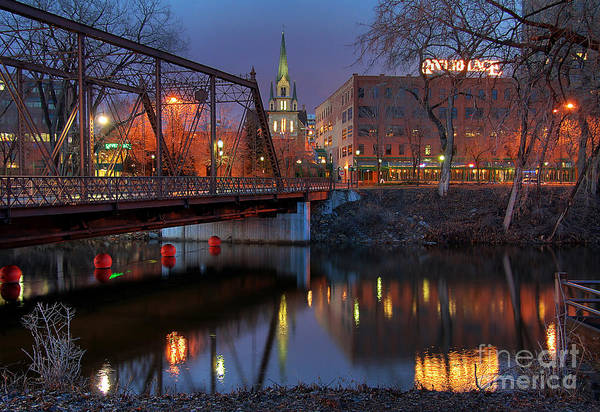 Wall Art - Photograph - Riverplace Minneapolis Little Europe by Wayne Moran