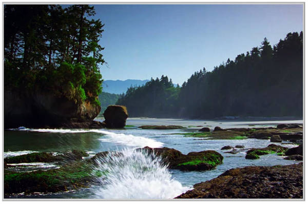 Promotion Mixed Media - Rivers And Lakes Around Olympic National Park America by Navin Joshi