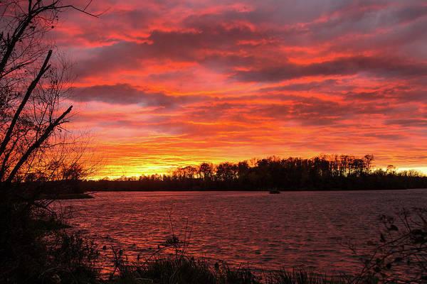 Photograph - Rivers Bend Sunset by Jemmy Archer