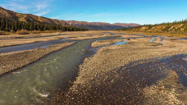 Photograph - Rivers Of Denali National Park by Brenda Jacobs