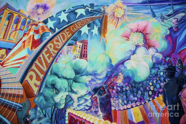 Wall Art - Photograph - Riverside Gardens Park  - Graffiti by Colleen Kammerer