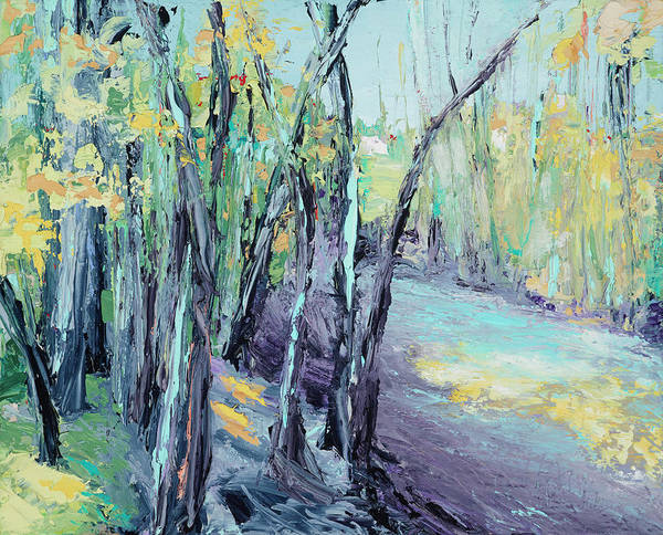 Painting - Riverside by Nan Davis