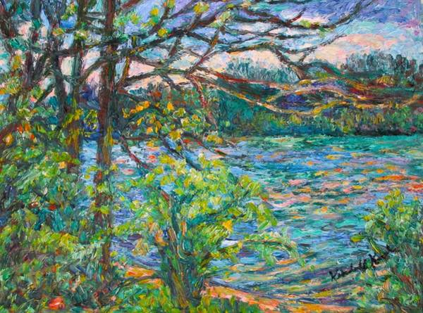 Painting - Riverview Spring  by Kendall Kessler