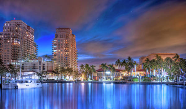 High Water Mark Photograph - Riverwalk Arts And Entertainment District by Mark Andrew Thomas